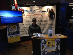 St paul ice fishing show december 4 6th 2015 muskie bay for Ice fishing show